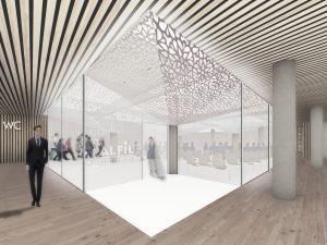 Concurso de arquitectura Grupo Alfil para Mercado gourmet Abastos y Viandas